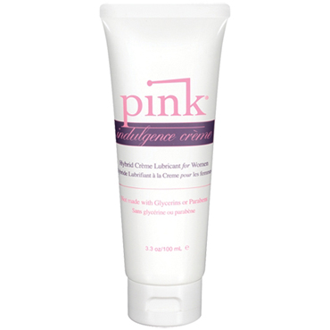 Pink Indulgence Creme, 100 мл Гибридный крем-лубрикант для женщин презерватив luxe maxima желтый дьявол 1