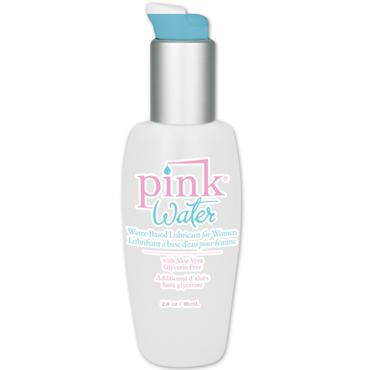Pink Water Intimate Lubricant, 80 мл Лубрикант на водной основе для женщин гели и смазки другой 52 улья с первой пасеки