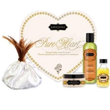 Kama Sutra Pure Heart Vanilla Kit Набор для романтического вечера lelo tantra красный перышко для чувственного массажа
