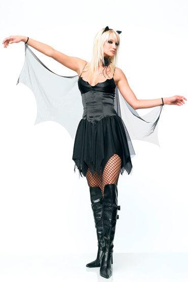 Leg Avenue Летучая мышь Платье с крыльями и ушками you2toys nipple clamps зажимы для сосков