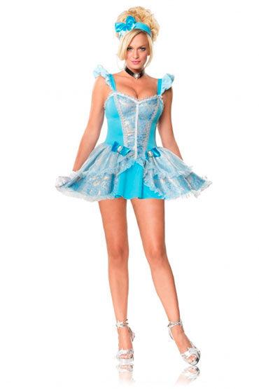 Leg Avenue Сказочная принцесса С повязкой на голову и украшением на шею leg avenue пират шикарный мужской костюм