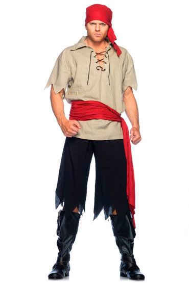 Leg Avenue Пират С поясом и повязкой на голову leg avenue пират с красным поясом и косынкой