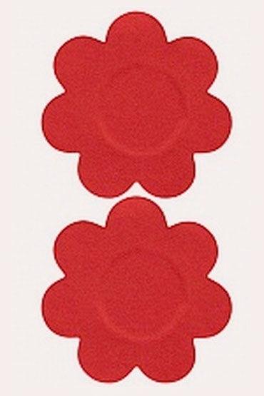 Leg Avenue пэстисы, красные В форме цветочков силиконовые накладки на грудь 46
