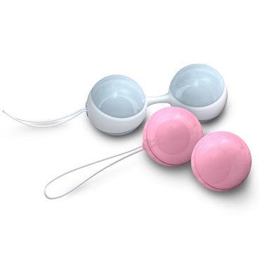 Lelo Luna Beads Mini Миниатюрные вагинальные шарики с системой выбора оптимального веса le frivole impulse боди комбинезон красный из сетки с вензелями