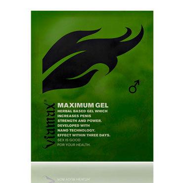 Viamax Maximum Gel, 2 мл Натуральный гель, усиливающий эрекцию клиторальный стимулятор venus penis