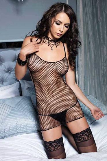 Leg Avenue мини-платье С эротичной шнуровкой на попе набор украшений gloria set на грудь и зону бикини цвет серебряный