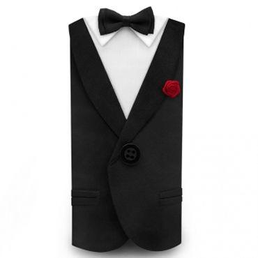Lelo Tux, черный Фрак для пениса комплект obsessive musca set размер 2xl цвет черный