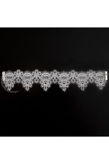 Dolce Piccante Delicati Pizzi, белое Ожерелье-чокер из кружева