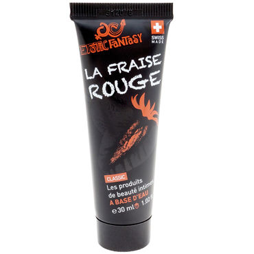 Erotic Fantasy La Fraise Rouge, 30мл Лубрикант на водной основе со вкусом и ароматом клубники и electric lingerie fantasy dream