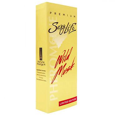 Sexy Life Wild Musk №2 La vie est belle, 10мл Женские духи с мускусом и двойным содержанием феромонов veber на цепочке 6x