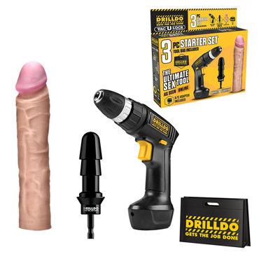 Drilldo Starter Секс-набор переходник для секс машин
