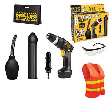 Drilldo Spiral Секс-набор satisfyer pro heads 5 шт набор дополнительных насадок для satisfyer pro 2