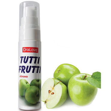 Bioritm OraLove Tutti-Frutti яблоко, 30 гр Гель для орального секса lick it erdbeere 50 мл для орального секса земляника