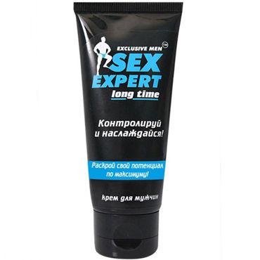 Bioritm Sex Expert Long Time, 40 гр Мужской крем для продления полового акта nox презервативы 48 шт секс игрушки для взрослых