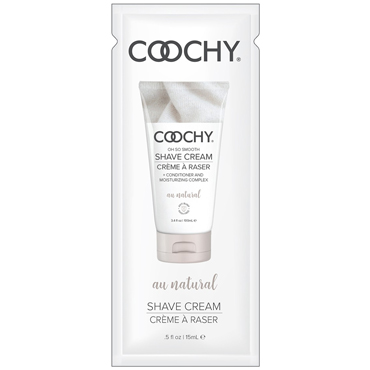 Classic Erotica Coochy Oh So Smooth Shave Cream Au Natural, 15 мл Увлажняющий комплекс без аромата крем madame orgasm cream 18ml