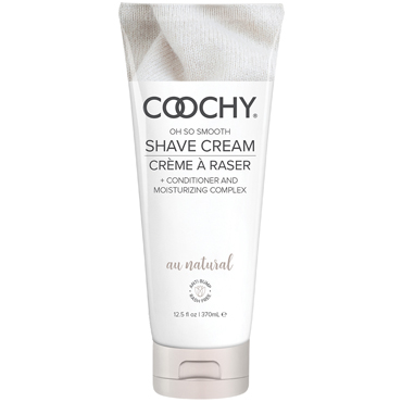 Classic Erotica Coochy Oh So Smooth Shave Cream Au Natural, 370 мл Увлажняющий комплекс без аромата увлажняющий комплекс coochy floral hazel 213 мл