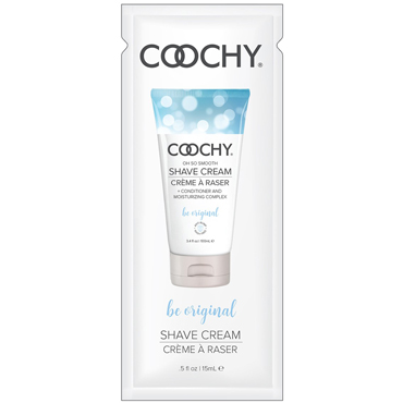 Classic Erotica Coochy Oh So Smooth Shave Cream Be Original, 15 мл Увлажняющий комплекс ароматизированный lifestyles original