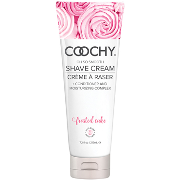 Classic Erotica Coochy Oh So Smooth Shave Cream Frosted Cake, 213 мл Увлажняющий комплекс ароматизированный увлажняющий комплекс coochy sweet nectar 213 мл
