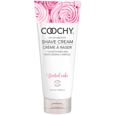 Classic Erotica Coochy Oh So Smooth Shave Cream Frosted Cake, 370 мл Увлажняющий комплекс ароматизированный увлажняющий комплекс coochy sweet nectar 213 мл