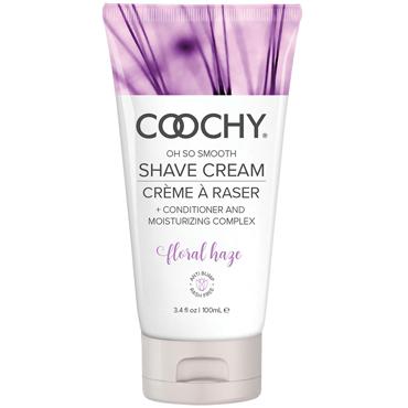 Coochy Oh So Smooth Shave Cream Floral Hazel, 100 мл Увлажняющий комплекс ароматизированный gfm эротическое белье новейшее прозрачное ночное платье кружевное летнего типа