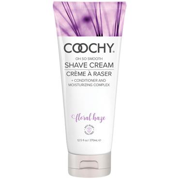 Classic Erotica Coochy Oh So Smooth Shave Cream Floral Hazel, 370 мл Увлажняющий комплекс ароматизированный защищающий лосьон coochy peony prowess с эффектом пудры 118 мл