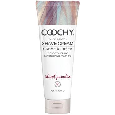 Coochy Oh So Smooth Shave Cream Island Paradise, 213 мл Увлажняющий комплекс ароматизированный desire prolongator 30 мл крем гель пролонгирующего действия