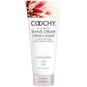 Classic Erotica Coochy Oh So Smooth Shave Cream Sweet Nectar, 370 мл Увлажняющий комплекс ароматизированный pleasure box gold для игр в стиле бдсм набор для сексуальных экспериментов