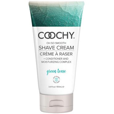 Classic Erotica Coochy Oh So Smooth Shave Cream Green Tease, 100 мл Увлажняющий комплекс ароматизированный
