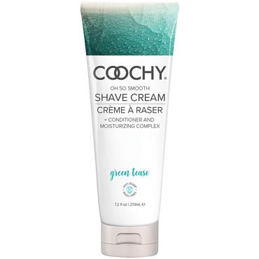 Coochy Oh So Smooth Shave Cream Green Tease, 213 мл Увлажняющий комплекс ароматизированный анальная пробка super compact vibrating buttplug