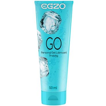 Egzo Go, 50 мл Лубрикант пролонгирующий на водной основе doc johnson giant cock with balls черный фаллоимитатор большой