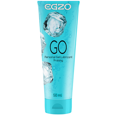 Egzo Go, 50 мл Лубрикант пролонгирующий на водной основе лубрикант erotic fantasy la soie lisse classic на водной основе 30 мл