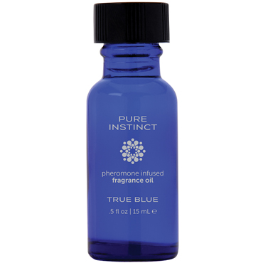 Pure Instinct Pheromone Fragrance Oil True Blue, 15 мл Парфюмерное масло с феромонами для двоих k natural instinct be to be для женщин подводка для