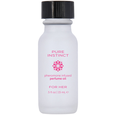 Pure Instinct Pheromone Perfume Oil For Her, 15 мл Парфюмерное масло с феромонами для женщин духи с феромонами hot woman pheromone parfum 10мл