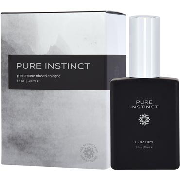 Pure Instinct Pheromone Infused Cologne For Him, 30 мл Духи с феромонами для мужчин мужские духи с феромонами connubia pheromone
