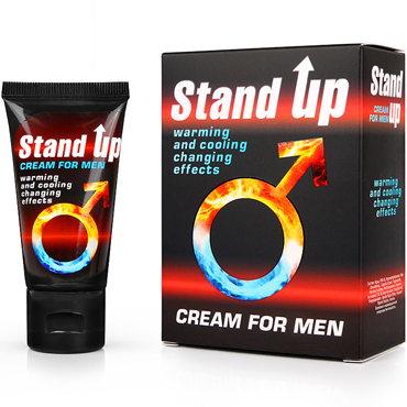 Bioritm Stand Up, 25 г Возбуждающий крем для мужчин stand up