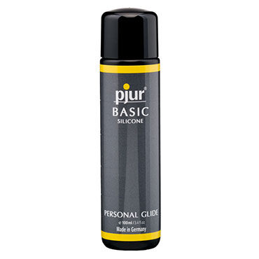 Pjur Basic Silicone, 100 мл Универсальный силиконовый лубрикант pjur superhero lubricant 100 мл лубрикант усиливающий эрекцию