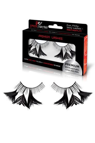 Erotic Fantasy Flirty Feathers Накладные ресницы с перышками erotic fantasy deep black накладные ресницы