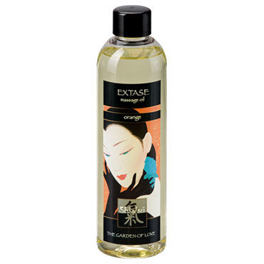 Shiatsu Oil Extase Orange, 250 мл Массажное масло апельсин shiatsu oil sensual jasmin 250 мл