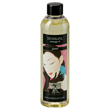 Shiatsu Oil Sensual Jasmin, 250 мл Массажное масло жасмин массажное масло hot massage oil жасмин 100 мл