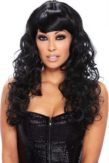 Erotic Fantasy Fierce Кудрявый, черного цвета erotic fantasy scarlet lavish парик с градуированной стрижкой