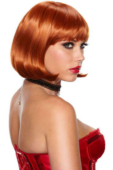 Erotic Fantasy Playfully Passion Рыжий парик-каре erotic fantasy scarlet lavish парик с градуированной стрижкой