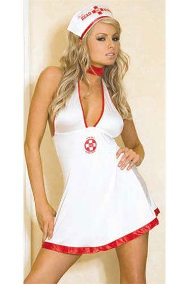 Hustler Медсестра Мини-платье и чепчик стоимость