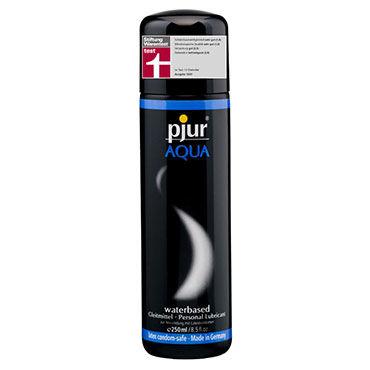 Pjur Aqua, 250 мл Сверхмягкий увлажняющий лубрикант flutschi professional смазка на водной основе 200 мл