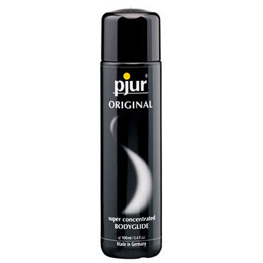 Pjur Original, 100 мл Концентрированный силиконовый лубрикант baci комплект черно бежевый