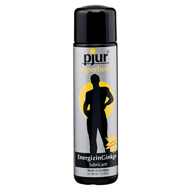 Pjur Superhero Lubricant, 100 мл Лубрикант, усиливающий эрекцию натуральный лубрикант pjur med vegan gilde 100 мл