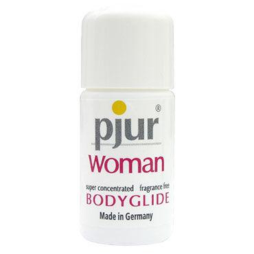 Pjur Woman Body Glide, 10 мл Силиконовый лубрикант для женщин doc johnson giant cock with balls черный фаллоимитатор большой