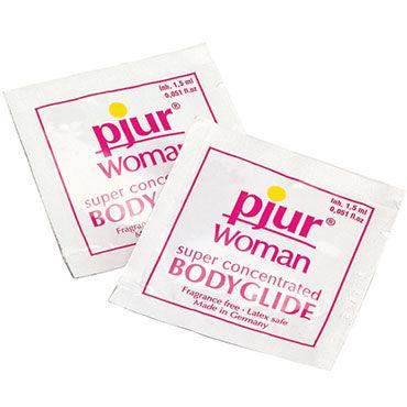 Pjur Woman Body Glide, 1,5 мл Силиконовый лубрикант для женщин эротический костюм школьницы le frivole costumes эротический костюм школьницы