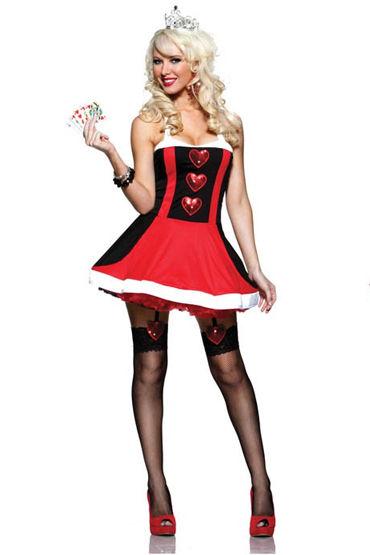 Seven til Midnight Сердцеедка Мини-платье с воротником и тиара baile love companion реалистичный вибратор