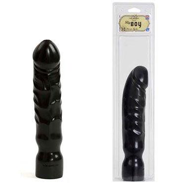 Doc Johnson Big Boy, черный Большой пенис с реалистичной головкой кожаные эрекционные кольца регулируемый увеличитель пениса улучшение эрекции безопасный бондаж 470012s