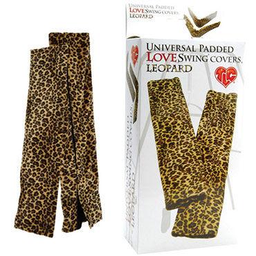 Topco чехлы, леопардовые Бархатистые, для любовных качелей презервативы masculan 2 classic с пупырышками 10 шт